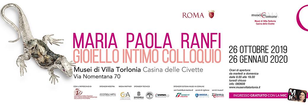 Maria Paola Ranfi, Gioiello intimo colloquio_Home